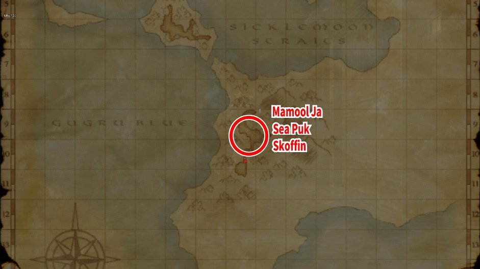 Leveling Map Bhaflau Thickets 002