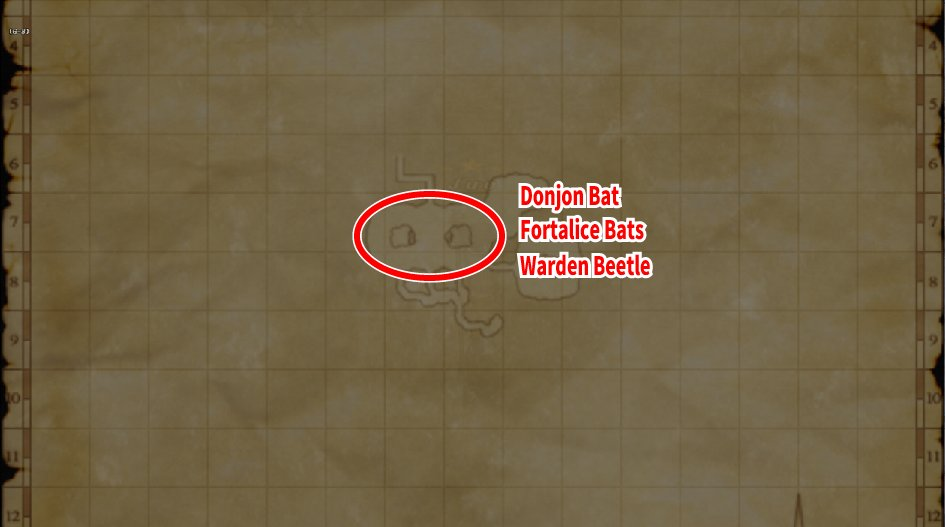 Leveling Map Garlaige Citadel
