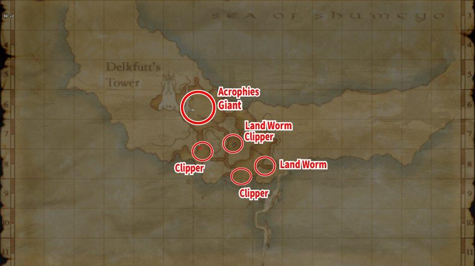 Leveling Map Qfim Island