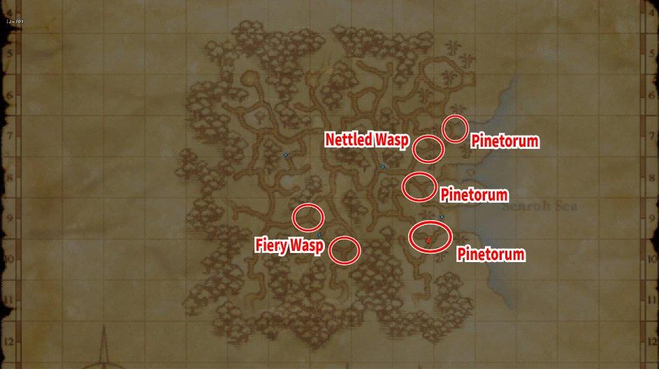 Leveling Map Yahse Humes