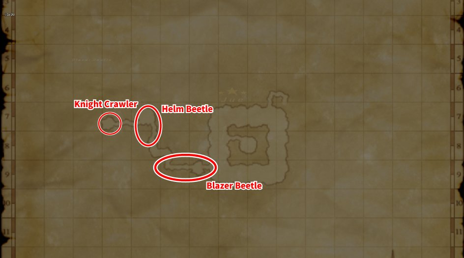 Leveling Map Crawlers' Nest 003