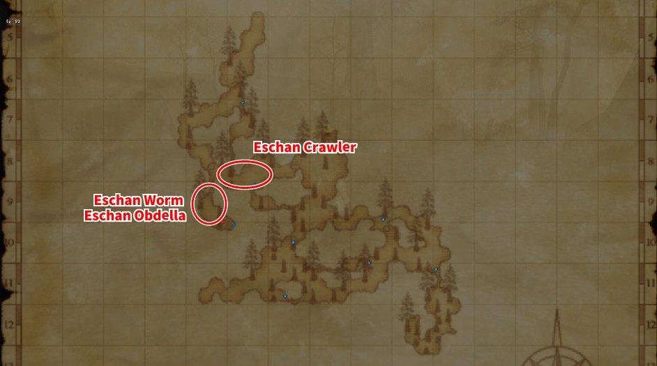 Leveling Map Escha - Zi'Tah 001