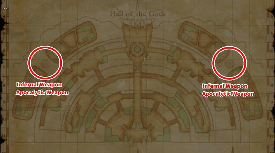 Leveling Map Ro'Maeve