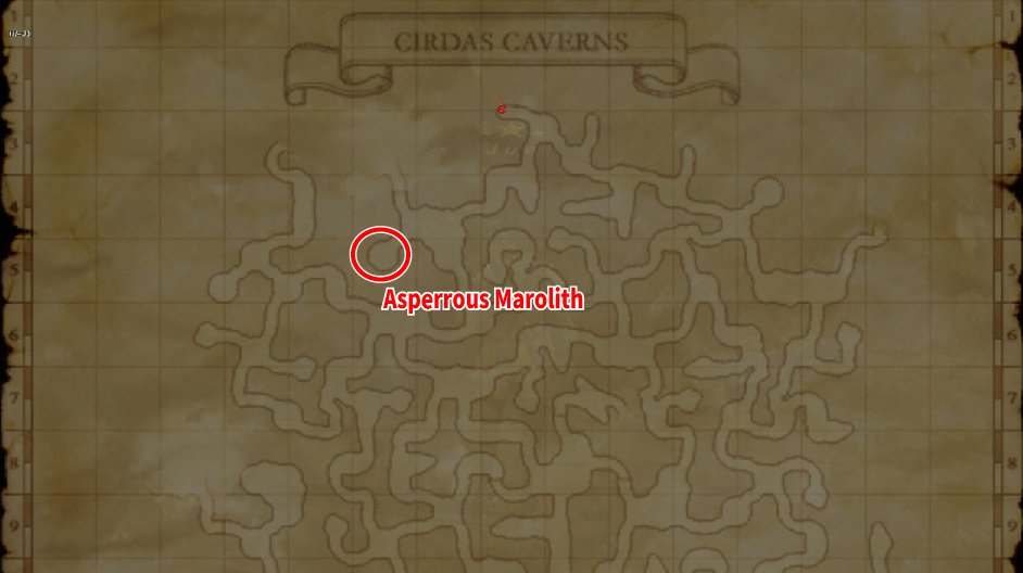 Learning Map Cirdas Caverns