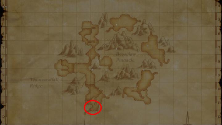 Learning Map Uleguerand Range