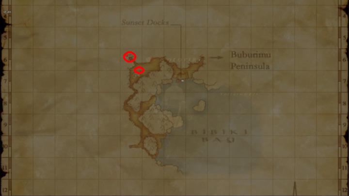 Learning Map Bibiki Bay
