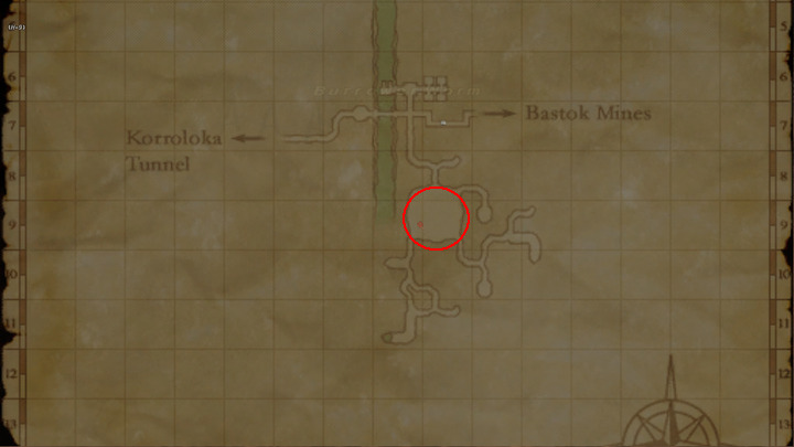 Learning Map Zeruhn Mines