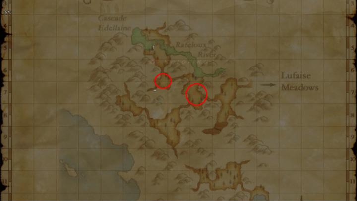 Learning Map Misareaux Coast