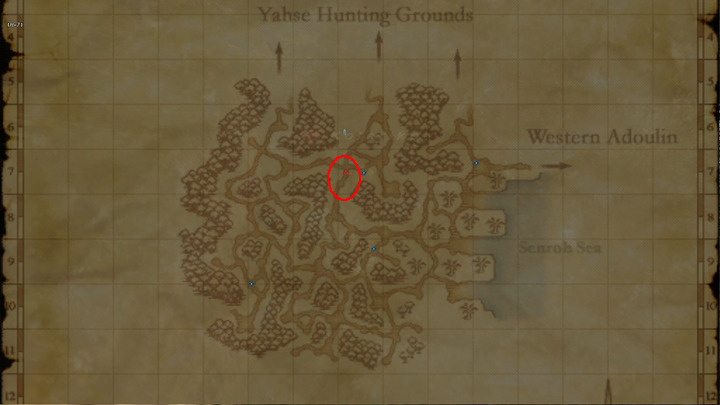 Learning Map Yahse Hunting Grounds