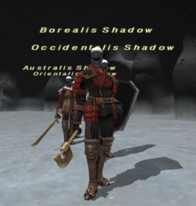 FFXI Unity Wanted NM Borealis Shadow