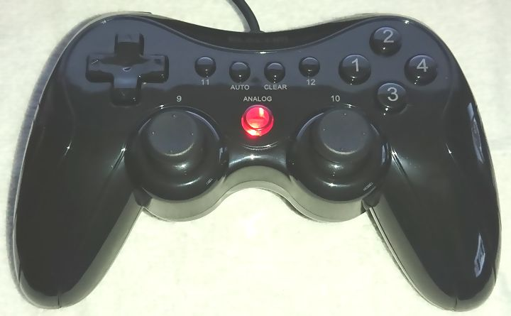 Recommended Game Pad Elecom JC-FU2912FBK for FFXI
