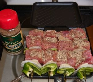 FFXI Meat Mithkabob cooked by Hot Sandwitch Maker 002