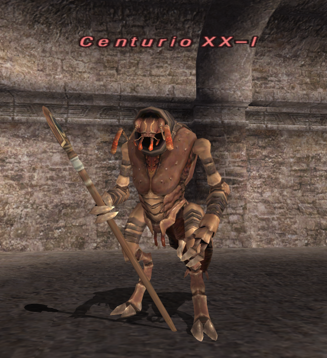 FFXI Unity Wanted2 Cnturio XX-I 001