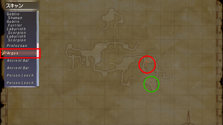 Map of Argus