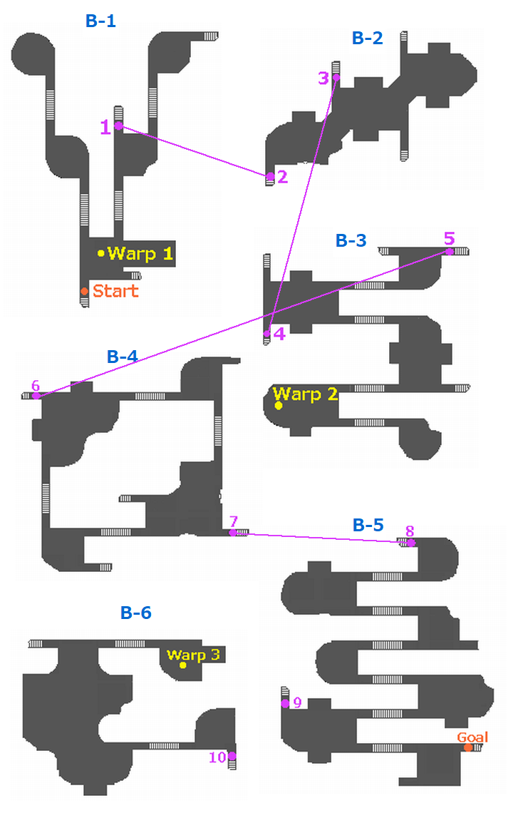 Odyssey Sheol B Map
