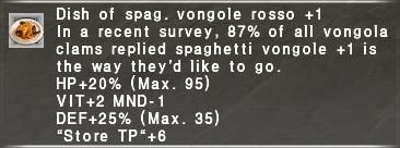Vongole Rosso +1
