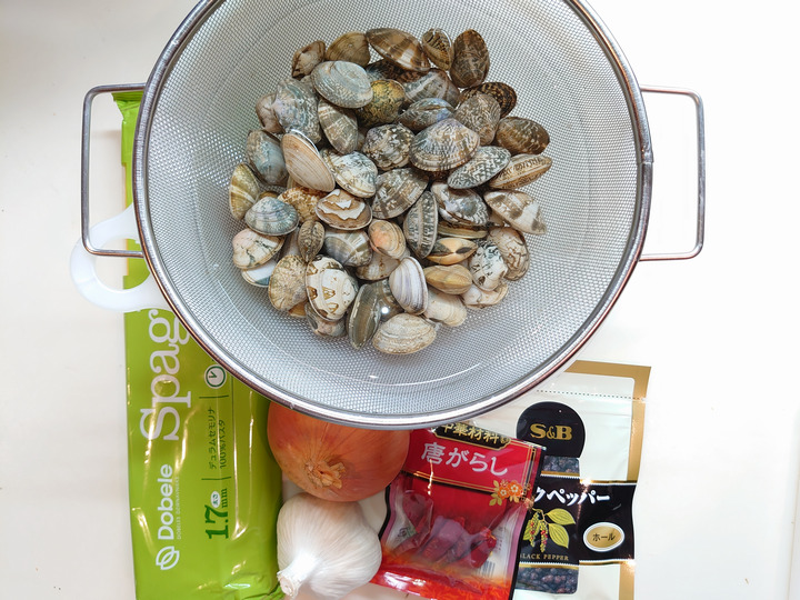 Foodstuff of Vongole Rosso